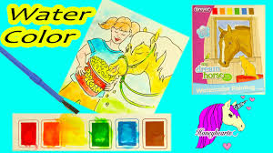 breyer my dream horse water color painting paint set art book