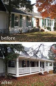 Homes With Front Porches Best 25 Front Porch Addition Ideas On Pinterest Porch Addition