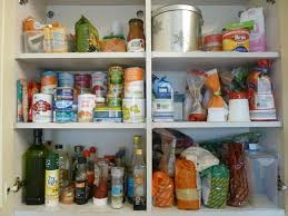 how to store food in cupboards week 2 store cupboards before and after much more with less