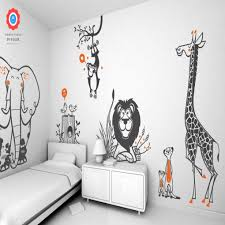 stickers savane chambre bébé la luxueux stickers chambre enfant academiaghcr