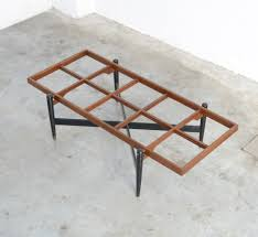 1950s coffee table in the manner of gio ponti
