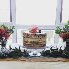 native edible plants australia rustic semi cake with native australian flowers for