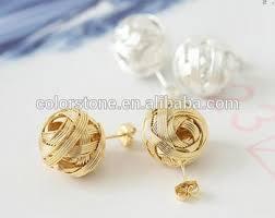 gold earring studs designs golden earring designs for women white stud earrings gold