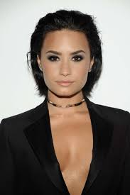 swept back hairstyles for women 7 times demi lovato nailed her bob haircut makeup tutorials