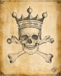 117 best crowned skulls images on skulls skull and