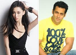 chinese actress zhu zhu promote tubelight salman khan