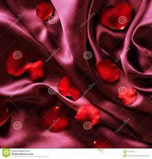 Silk Rose Petals Red Silk And Rose Petals Royalty Free Stock Photos Image 16123758