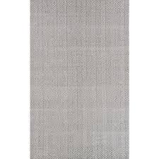 Nuloom Rug Reviews Nuloom Herringbone Cotton Grey 9 Ft X 12 Ft Area Rug Hmco4c 9012