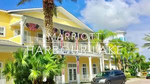 marriott time share orlando harbour lake tour youtube
