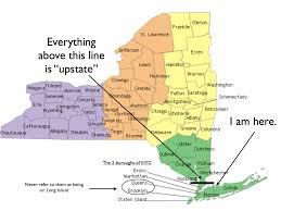 The Map Of New York by Map Of Nyc Boroughs