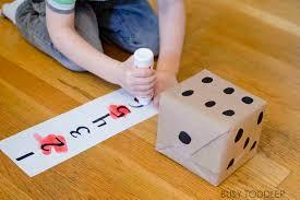 roll u0026 cross math game busy toddler