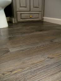 Laminate Bathroom Floor Tiles Redoing Our Flooring With Peel U0026 Stick Tile That Looks Like Wood