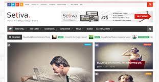 52 best responsive blogger templates themefounders