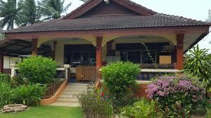 bungalows maenam beach koh samui ein blick ins restaurant