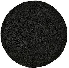Braided Jute Rugs Handwoven And Braided Jute Rug Black Transitional Area Rugs