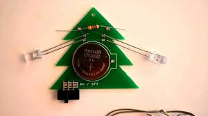 diy make your own blinking light holiday tree youtube