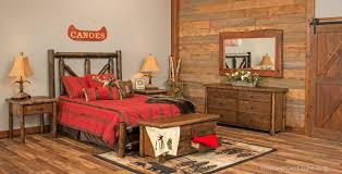 Rustic Log Bedroom Furniture Rustic Cedar Bed Log Bed Lodge Bedroom Furniture Refined Rustic Bed