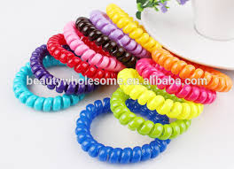 hair rubber bands telephone wire hair band h0t015 traceless hair ring for