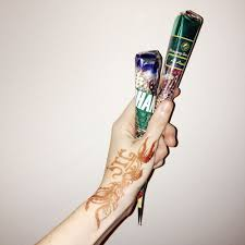 modern day henna tattoos into the gloss into the gloss