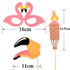 photo booth supplies lincaier 20 flamingo photo booth props tropical wedding