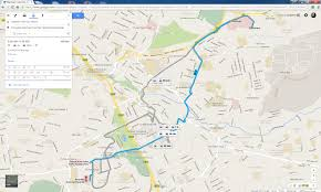 How To Draw A Route On Google Maps Digital Matatus Project Makes The Invisible Visible Mit News