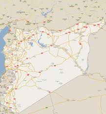 Aleppo Syria Map by Maps Of Syria Detailed Map Of Syria In English Tourist Map Of