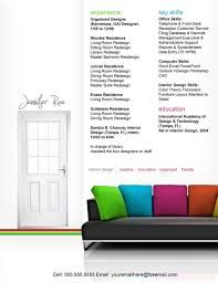 interior design awesome interior design resumes room design