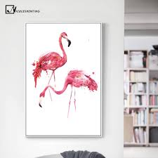online get cheap flamingo poster aliexpress com alibaba group