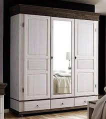 Schlafzimmer Komplett Antik Schlafzimmer 8teilig Kiefer Massiv 2farbig Weiß Kolonial