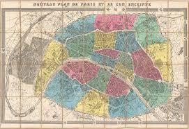 Paris France Map by File 1867 Ledot Pocket Map Of Paris France Geographicus Paris