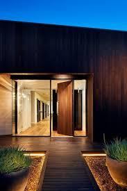 low voltage strip lighting outdoor contemporary front door design entry contemporary with concrete