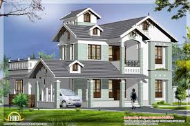 modern architecture house design with double floor home design sq