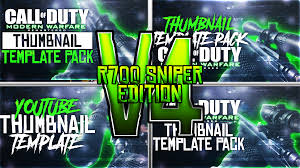 r700 youtube thumbnail template mwr by acezproduction on deviantart