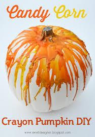 pumpkin candy corn candy corn crayon pumpkin diy