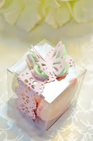 butterfly favor boxes pink doily favor boxes macaron box 30 butterfly favor box
