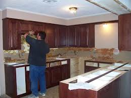 Transforming Kitchen Cabinets Refinishing Kitchen Cabinets Diy