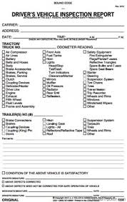 Vehicle Inspection Report Template Free by Carbonless Jj Keller Daily Vehicle Inspection Report Vir