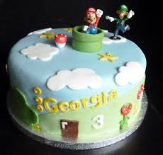 super mario birthday cake wedding u0026 birthday cakes from