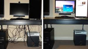 how to cable manage a desk diy binder clip cable management is insanely cheap customizable