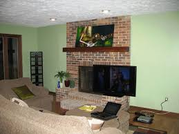 tv over fireplace with regard to mount ideas
