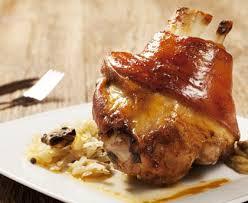 cuisine jarret de porc jarret de porc braisé au cidre recette de jarret de porc braisé au