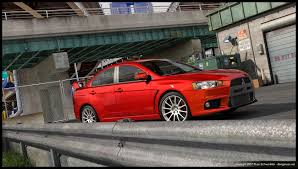 mitsubishi evo red evo x red by dangeruss on deviantart