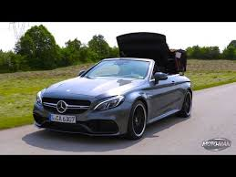 mercedes amg convertible 2017 mercedes c63 s amg convertible drive review 2 of