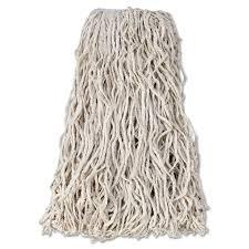 Rubbermaid Mops Walmart by Rubbermaid Commercial Economy Cut End Cotton Wet Mop Head 24oz 1