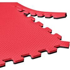 Norsk Interlocking Floor Mats by Norsk Interlocking Foam Reversible Floor Mat 4 Pack Plus Bonus