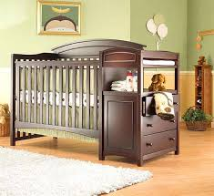 Mini Crib With Attached Changing Table Crib And Changing Table Medicaldigest Co
