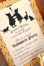 from home birthday party invitation wording birthday halloween