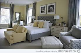 GREY  YELLOW BEDROOM IDEAS  Stuart Graham Fabrics - Grey and yellow bedroom designs