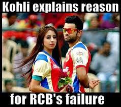 Rcb Memes - kohli explians reason for rcb failure az meme funny memes