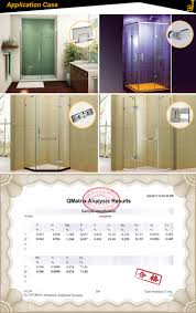 glass shower door hinge stainless steel frameless shower door wall mount glass hardware